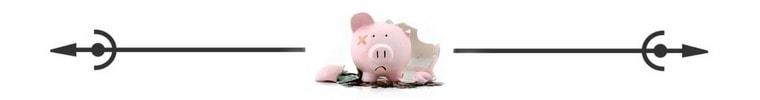 Broken Piggy Bank Spacer Savvy Cleaner