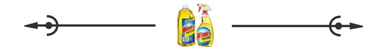 Windex all purpose spacer Savvy Cleaner