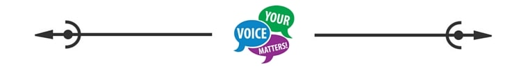 Your Voice Matters Spacer ©SavvyCleaner