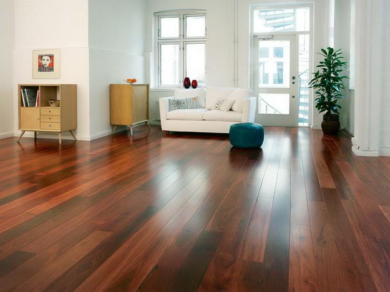 Mild finish hardwood floors