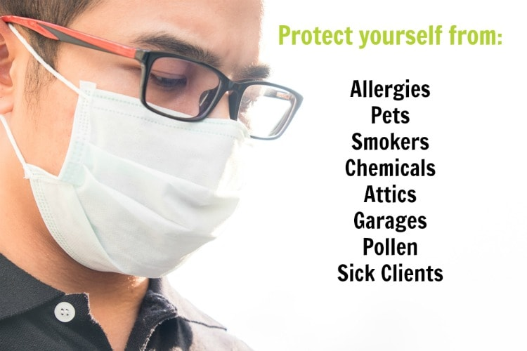 Face Masks PPE - Personal Protective Equipment ©Savvy Cleaner