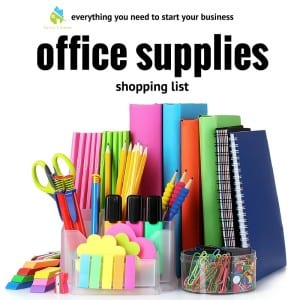 SavvyCleaner.com_Office_Supplies_Shopping_List