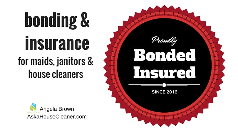 #AskaHouseCleaner bonding and insurance for house cleaners