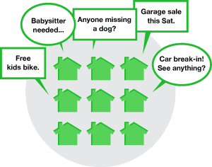 We offer a referral fee at Nextdoor from SavvyCleaner.com