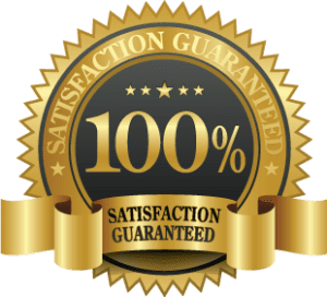 Satisfaction guarantee gold star