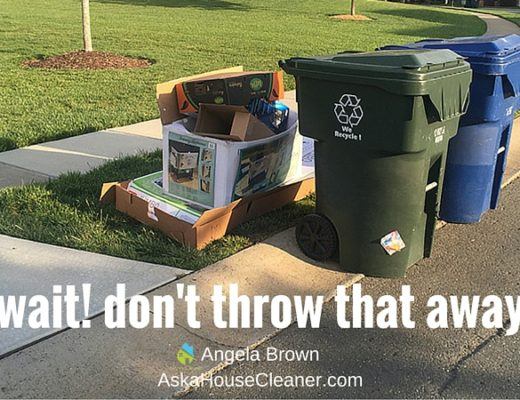 trash and recycling blog cover ask a house cleaner