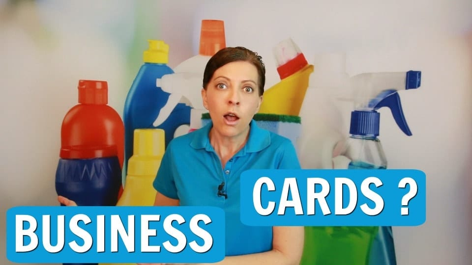 Do I Need a Business Card For My Cleaning Company? > Ask a House Cleaner