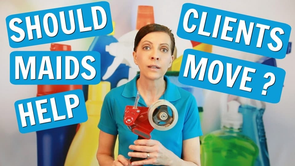 Ask a House Cleaner, Help Clients Move, Savvy Cleaner