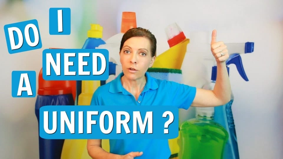 15 Ask a House Cleaner, Do I need a uniform, Angela Brown, Savvy Cleaner