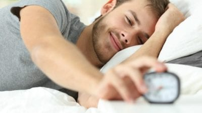 Imagine waking up to alarm