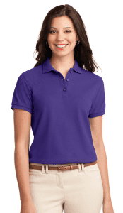Uniform Shirt in Purple