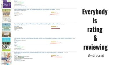 Everybody is doing ratings & reviews