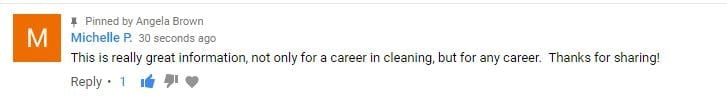 This is really great information, Ask a House Cleaner Testimonial