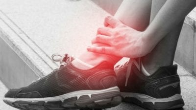 burnout is like running on a broken ankle