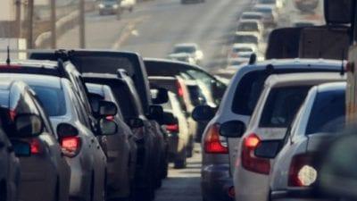 travel in rush hour traffic