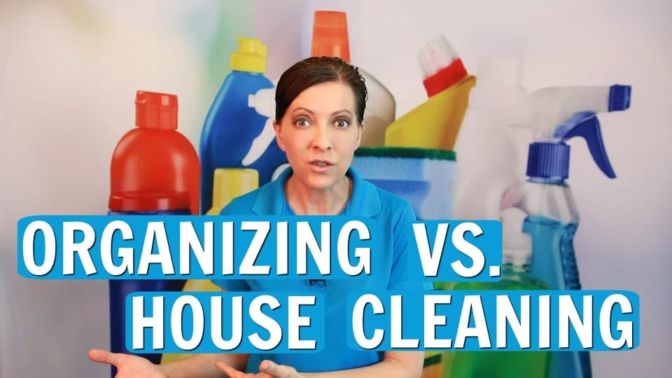 Ask a House Cleaner, Organizing vs House Cleaning, Savvy Cleaner