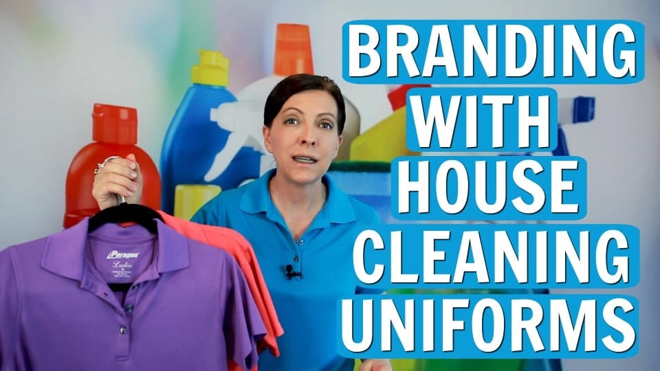 Ask a House Cleaner, Brand Your Cleaning Business With Your Uniform, Savvy Cleaner