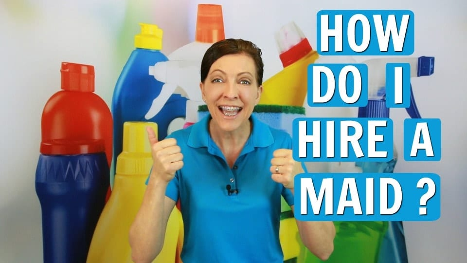 Ask a House Cleaner, How Do I Hire a Maid, Savvy Cleaner