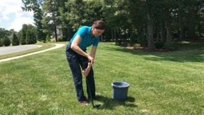 Angela Brown Pulling Weeds, Ask a House Cleaner