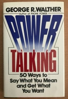 Best Books Power Talking with George Walther