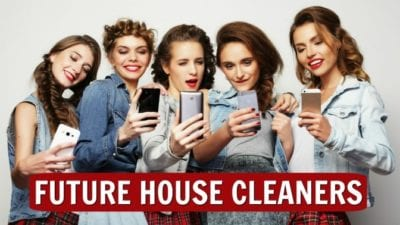 Five Sisters, Future House cleaners, house cleaning fun for kids