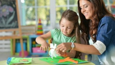 Hire a maid so a woman can do crafts with her daughter