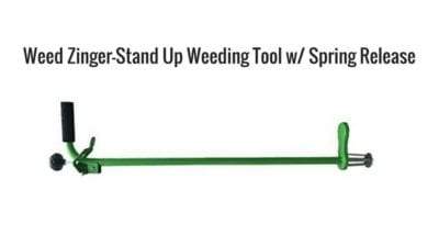 Yardwork, Upsell with Weed Zinger, Stand Up tool
