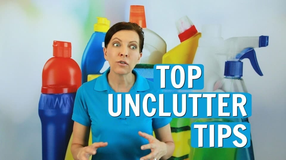 Ask a House Cleaner, Unclutter, Savvy Cleaner