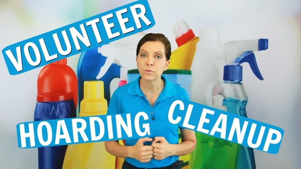Ask A House Cleaner, Volunteer - Hoarding Cleanup, Angela Brown, Savvy Cleaner
