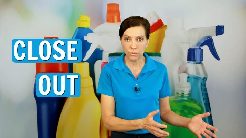 Ask A House Cleaner, Close Out, Savvy Cleaner