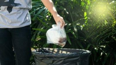 Volunteer Hoarding Cleanup throwing away stuff
