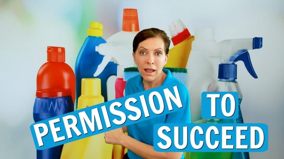 Ask a House Cleaner, Permission to Succeed, Savvy Cleaner