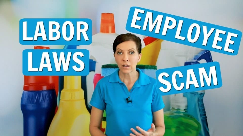 Ask a House Cleaner, Labor Laws, Savvy Cleaner