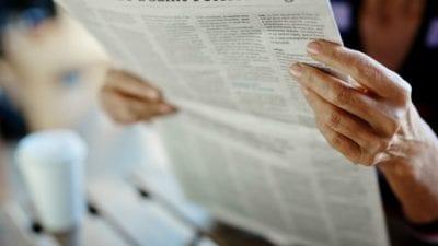Celebrity Hoarders, newspaper