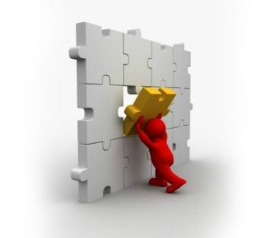 Permission-to-succeed-3d-man-struggling-with-puzzle