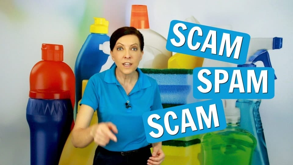 Ask a House Cleaner, Scam, Savvy Cleaner