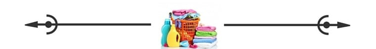 Laundry 3 spacer Savvy Cleaner