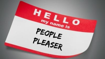 Sharkproof, Name Tag HELLO my name is People Pleaser