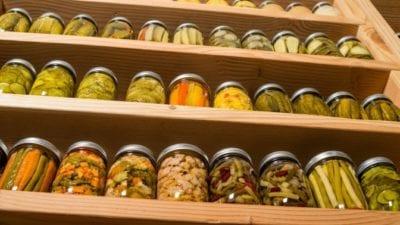 Garage Cleaning - Food Storage