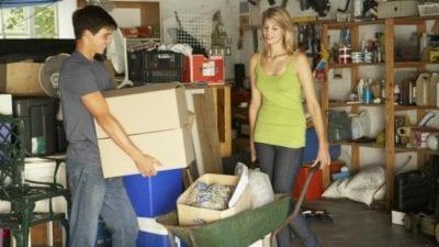 Garage Cleaning - Seasonal stuff