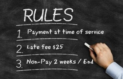 Payment Rules - Client Doesn't Pay