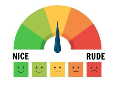 Rude Customer, Rudeness Scale