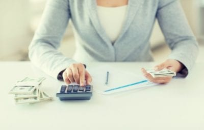 Woman budgeting Cash, Client Doesn't Pay