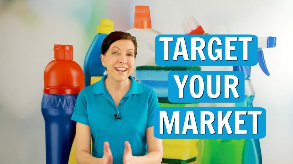 Ask a House Cleaner, Target Your Market, Savvy Cleaner
