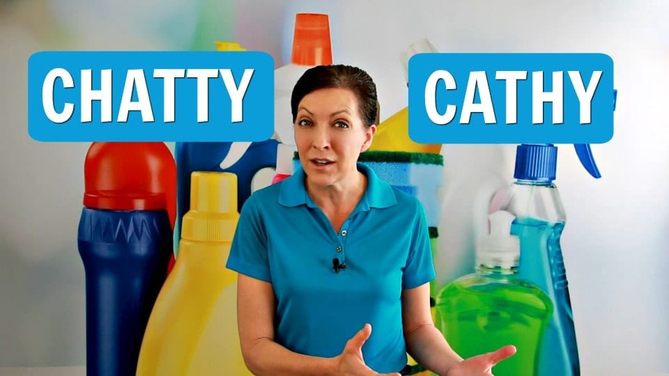 Ask a House Cleaner, Chatty Cathy, Savvy Cleaner
