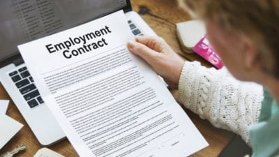 Business License employment contract