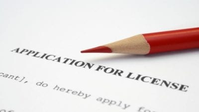 Business License license application