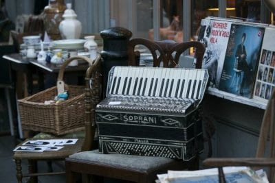Unreliable Employees, Attic With Accordian Among Other Old Items
