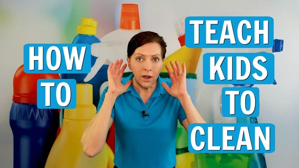 Ask a House Cleaner, Teach Kids to Clean, Savvy Cleaner