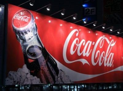 Advertising, Coca Cola Billboard